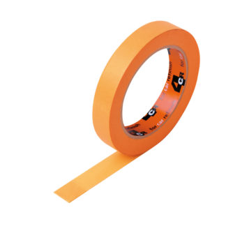 4CR 1141 Takarószalag - rugalmas, vízálló, narancs, 18 mm x 50 m