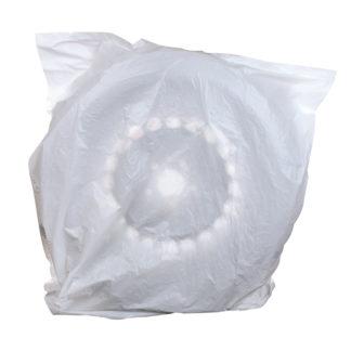 4CR 1144 Keréktakaró fólia, fehér, 74 x 81 x 16 cm
