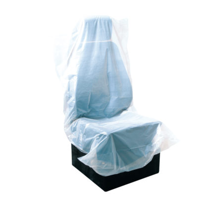 4CR 1145 Üléstakaró fólia, fehér, 82 x 127 cm
