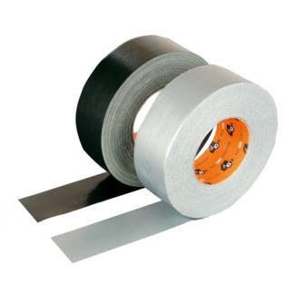 4CR 1190 Szövetszalag - fekete, szemcseszórt, 50 mm x 50 m