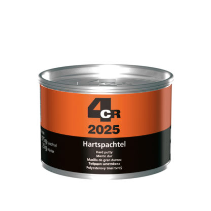 4CR 2025 Keménykitt edzővel, ezüst szürke metál, 1 kg