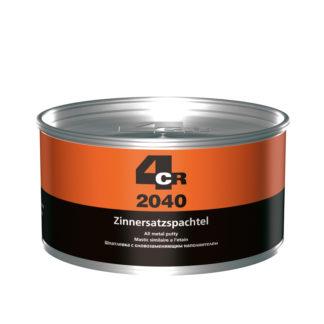 """4CR 2040 Cin helyettesítő kitt """"All Metal"""" edzővel, ezüst szürke metál, 2 kg"""