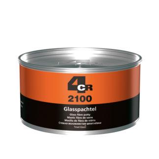 4CR 2100 Üvegszálas kitt edzővel - zöld, 1.8 kg