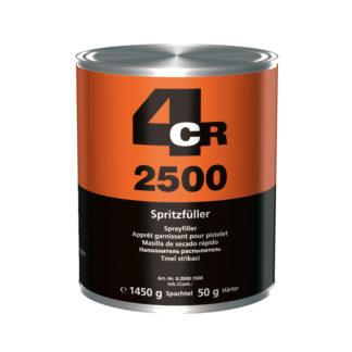 4CR 2500 Vastagszórókitt edzővel - poliészter, szürke, 1.5 kg