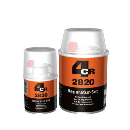 4CR 2820 Poliészter javítókészlet edzővel - üvegszövettel, 1 kg