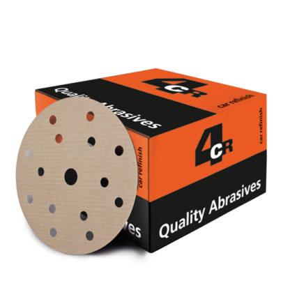 4CR 3100 Csiszolópapír - 7 lyukú, velcro-tépőzáras, d150 mm, P1500