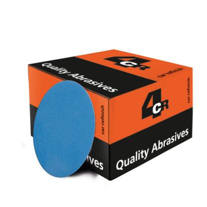 4CR 3351 Csiszolópapír - Trilennium, lyuk nélküli, velcro-tépőzáras, d75 mm, P1500