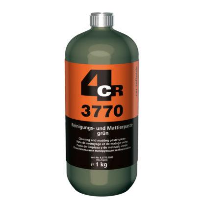 4CR 3770 Mattító paszta - zöld