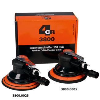 4CR 3800 75 mm Excenteres csiszológép - pneumatikus, 2.5 mm löket