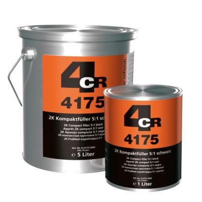 4CR 4175 2K Kompakt töltőalapozó 5:1 - fekete