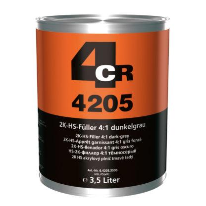 4CR 4205 2K HS-töltő 4:1, sötétszürke