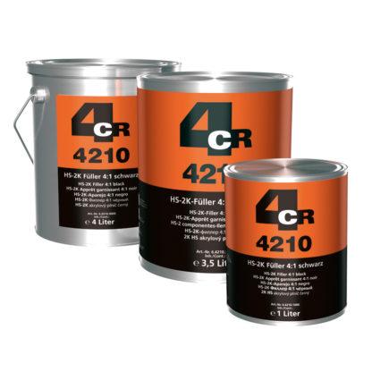 4CR 4210 2K HS-töltő 4:1, fekete