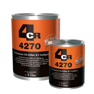 4CR 4270 2K HS Prémium Töltő, világosszürke
