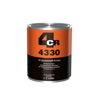 4CR 4330 1K műanyag alapozó, áttetsző ezüst