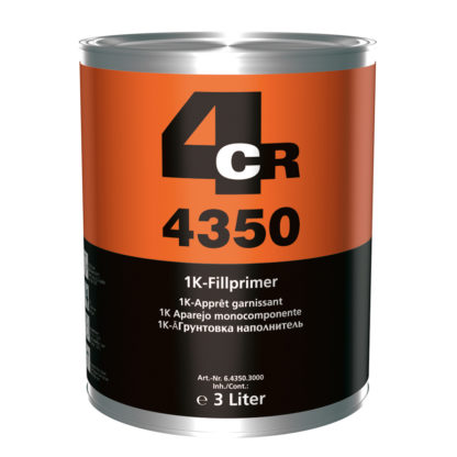 4CR 4350 1K töltőalapozó, szürke