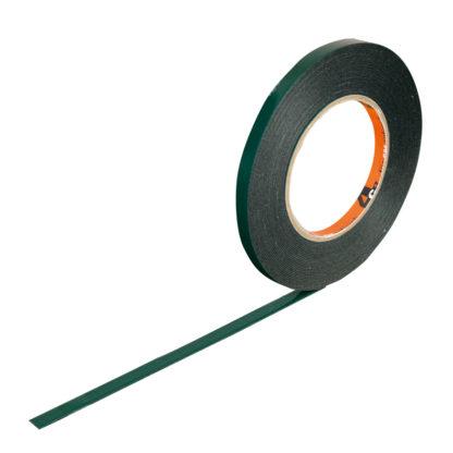 4CR 5180 Kétoldalú ragasztószalag - zöld, 19 mm x 10 m