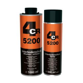 4CR 5200 Alvázvédő - bitumenes, fekete