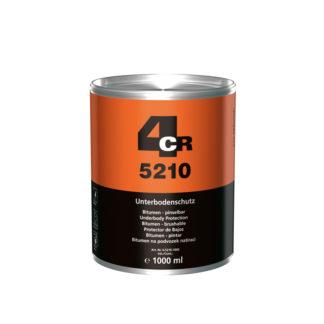 4CR 5210 Alvázvédő - bitumenes, ecsetelhető, fekete