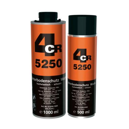 4CR 5250 Alvázvédő - viaszos, fekete