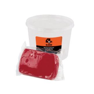 4CR 6290 Tisztító gyurma - piros