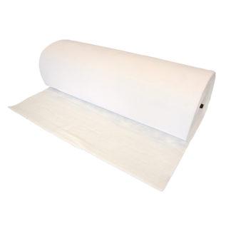 4CR 6906 Fülke-felsőszűrő - 600 g / m2, 20 mm, fehér, 200 cm x 20 m