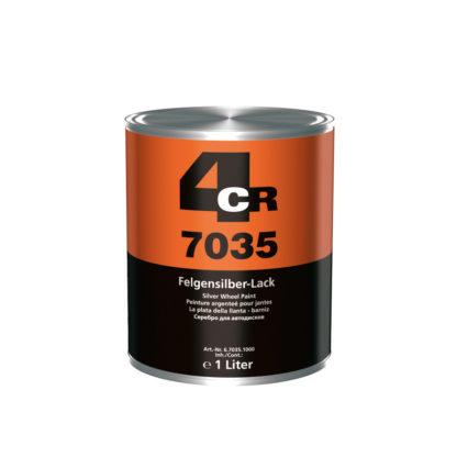 4CR 7035 Keréktárcsa festék - ezüst