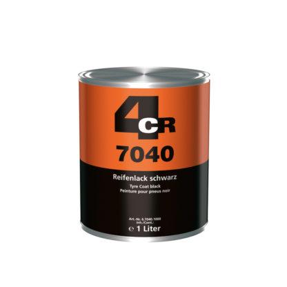 4CR 7040 Gumiabroncs festék - fekete