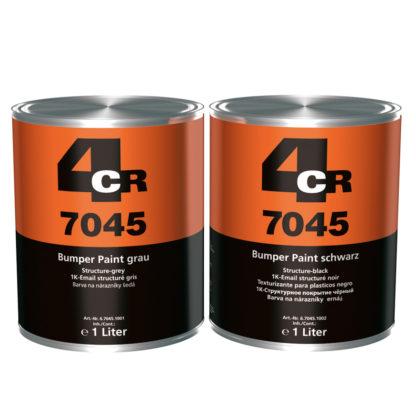 4CR 7045 Lökhárító festék - fekete