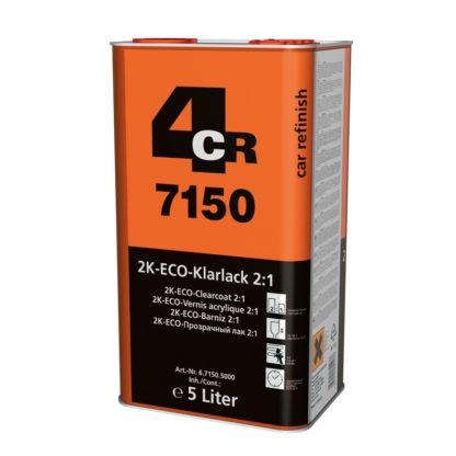 4CR 7150 2K ECO-színtelen lakk 2:1