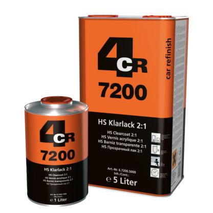 4CR 7200 HS színtelen lakk 2:1