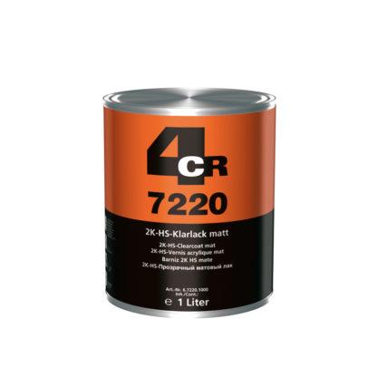 4CR 7220 2K HS-színtelen lakk - matt