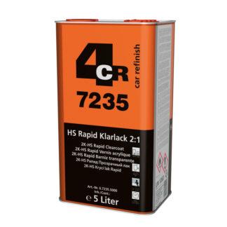 4CR 7235 2K HS-Rapid színtelen lakk 2:1