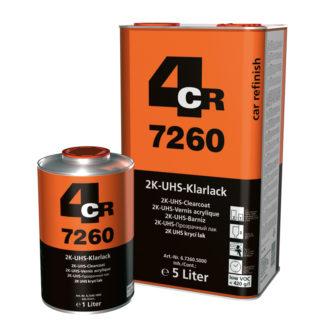 4CR 7260 2K UHS-színtelen lakk - VOC 420