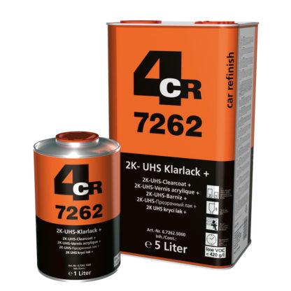 4CR 7262 2K UHS-színtelen lakk +