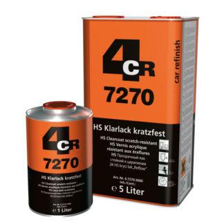 4CR 7270 HS színtelen lakk 2:1 - karcálló
