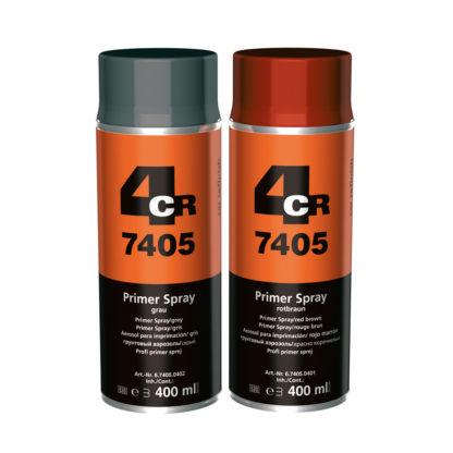 4CR 7405 Alapozó spray 'Profi' - szürke