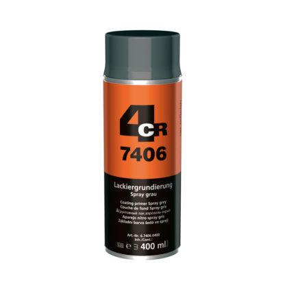 4CR 7406 Alapozó spray - szürke