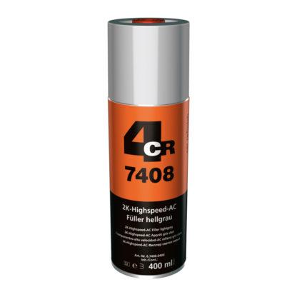 4CR 7408 2K Gyorsan száradó AC-Füller Spray - világosszürke