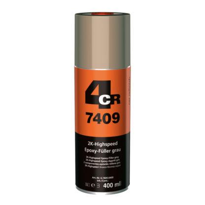4CR 7409 2K Gyorsan száradó EPOXI-Füller Spray - bézs