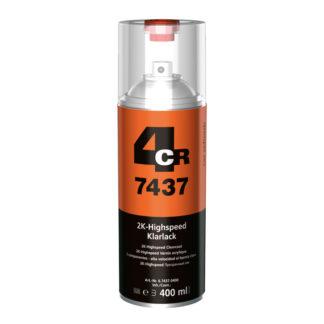 4CR 7437 2K Gyorsan száradó színtelen lakk Spray
