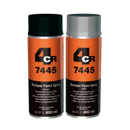 4CR 7445 Lökhárító festék spray - fekete