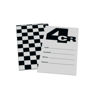 4CR 7590 Próbafújólap - papír, 13.5 x 7 cm