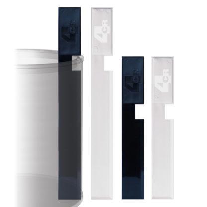 4CR 7650 Keverőpálcácskák festékesedényekhez - 27 cm, fehér