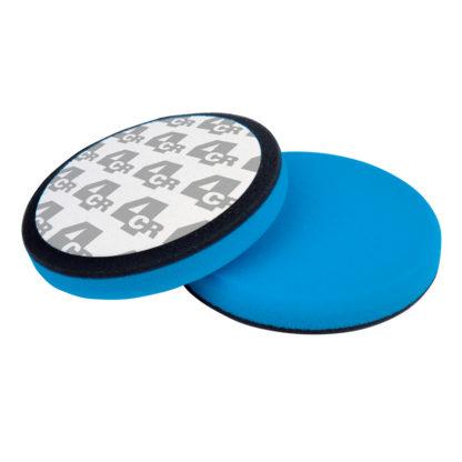 4CR 8282 Polírozószivacs - kék, ragasztott, 150 x 25 mm